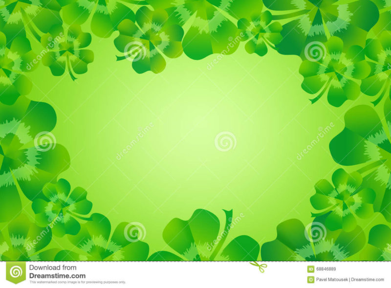 10 New 4 Leaf Clover Background FULL HD 1920×1080 For PC Background 2018 free download green four leaf clover shamrock border frame background stock 800x589