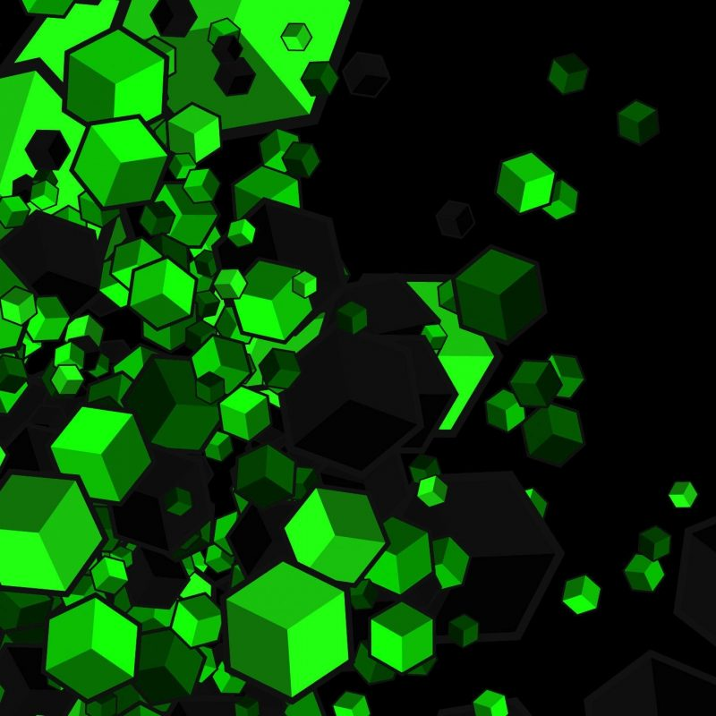 10 Best Green And Black Wallpapers FULL HD 1920×1080 For PC Background 2018 free download green or black cubes full hd fond decran and arriere plan 1 800x800