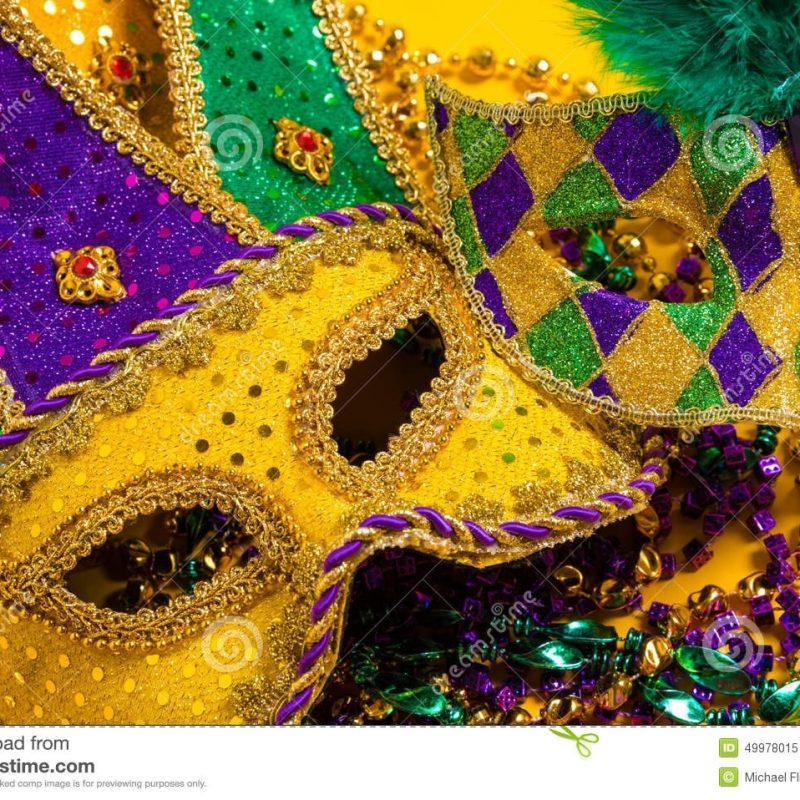 10 Top Mardi Gras Screen Savers FULL HD 1080p For PC Desktop 2020 free download group of mardi gras masks on yellow background wtih beads stock 800x800