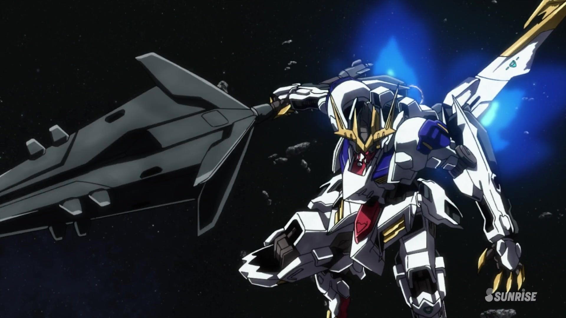 gundam barbatos lupus rex wallpaper | anime wallpaper | dibujo