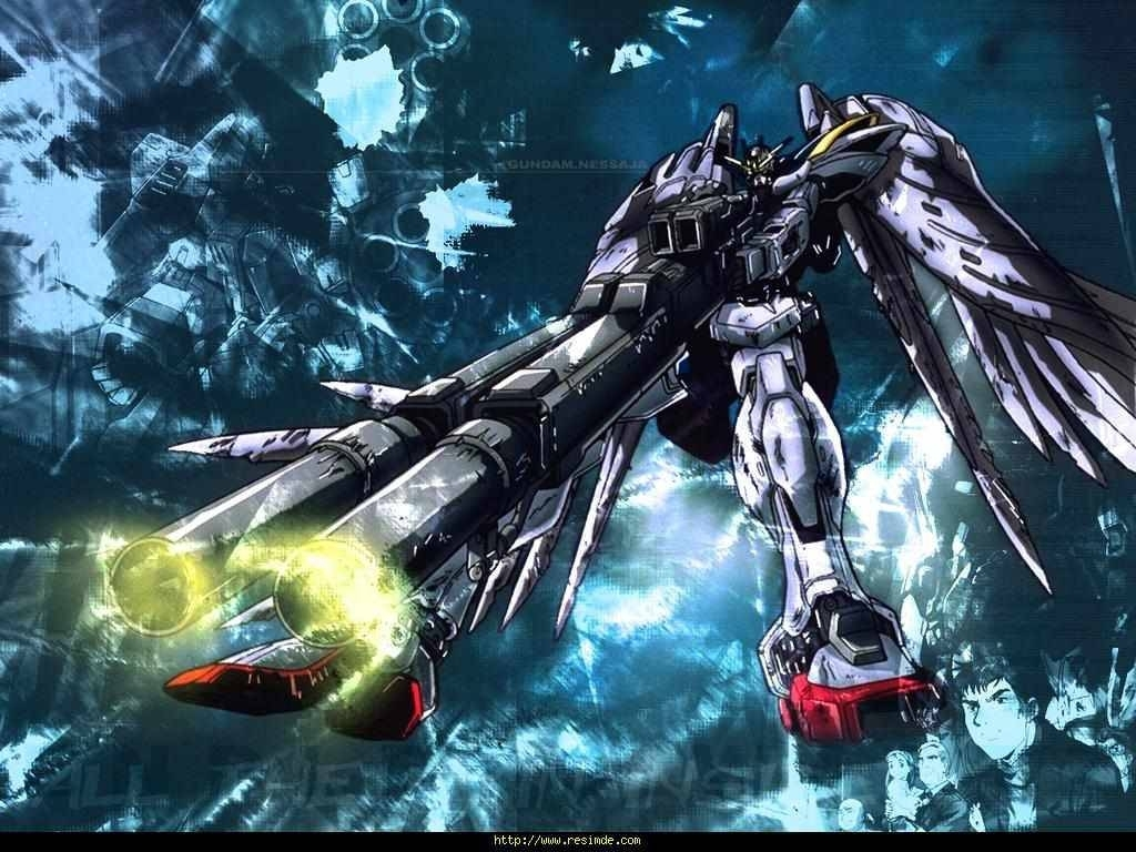 gundam wing zero custom wallpapers - wallpaper cave
