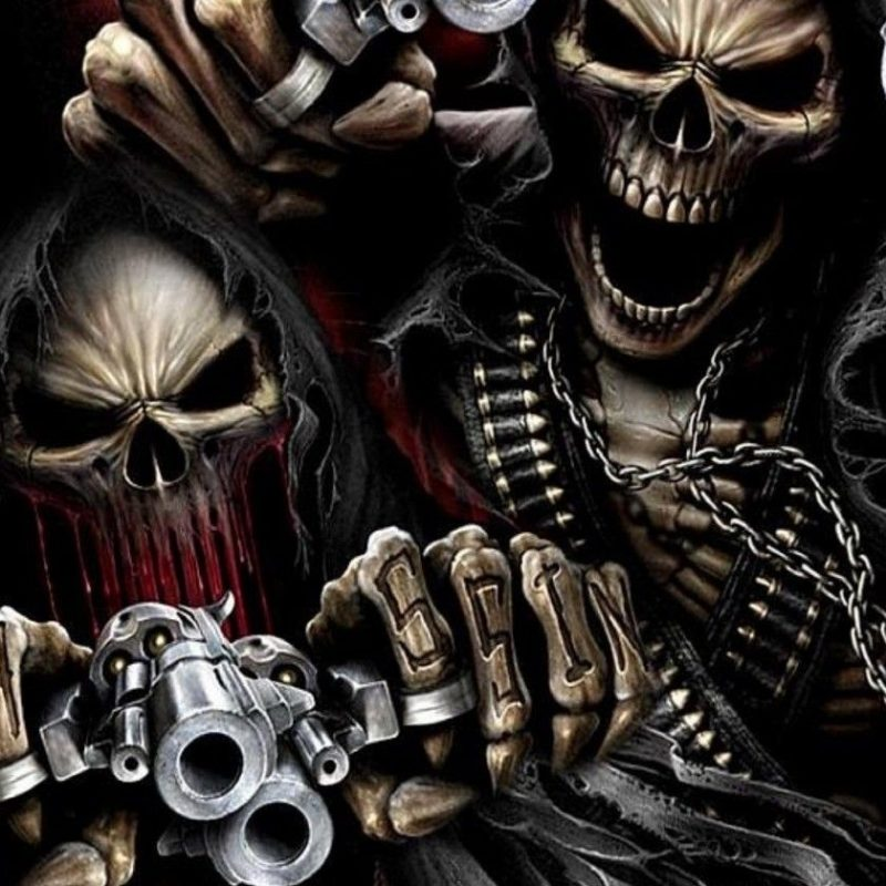 10 New Cool Skull And Guns Wallpapers FULL HD 1080p For PC Desktop 2018 free download guns wallpapers pictures 1920x1080 guns wallpaper 38 wallpapers 800x800