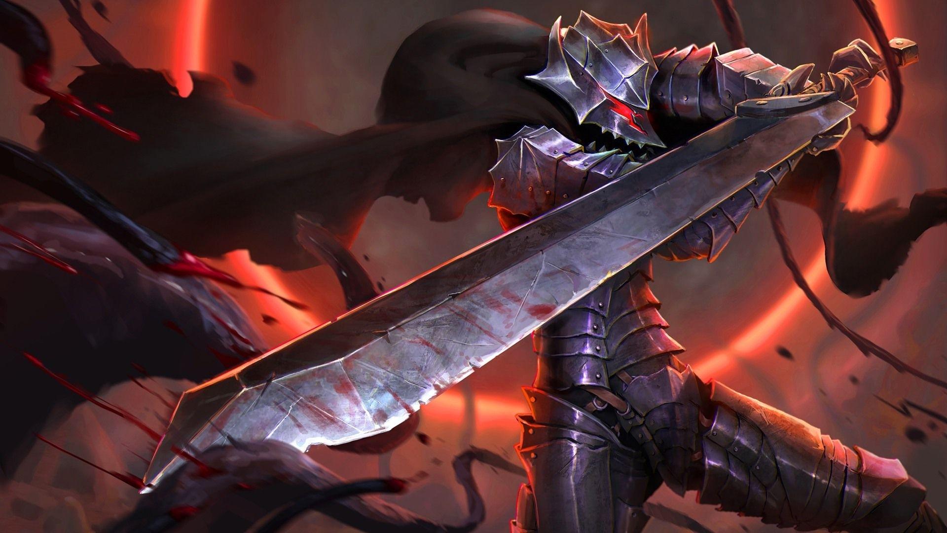 guts berserker armor wallpaper 1920x1080 | berserk | pinterest
