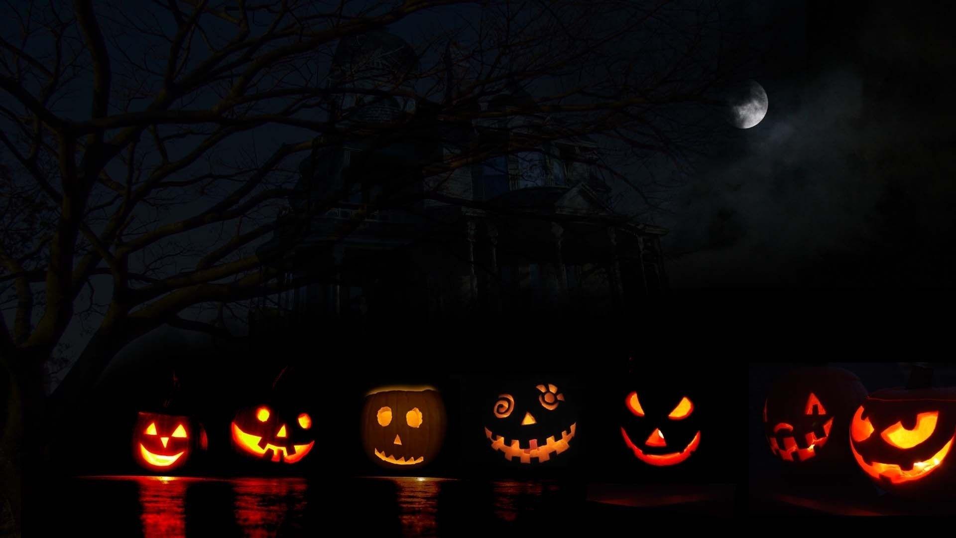 halloween desktop backgrounds wallpaper halloween | ЛУНА -moon
