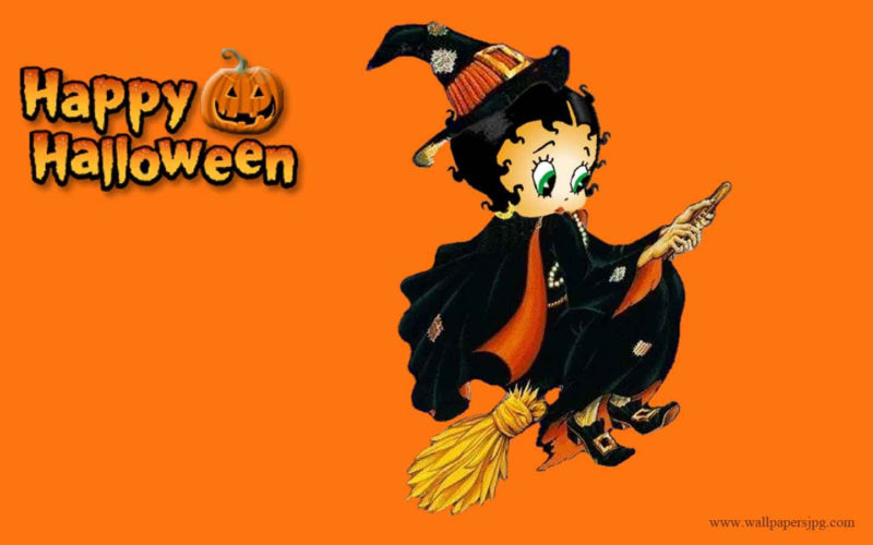 10 Best Betty Boop Halloween Wallpaper FULL HD 1920×1080 For PC Desktop 2018 free download halloween images free free happy halloween betty boop witch hd 800x500