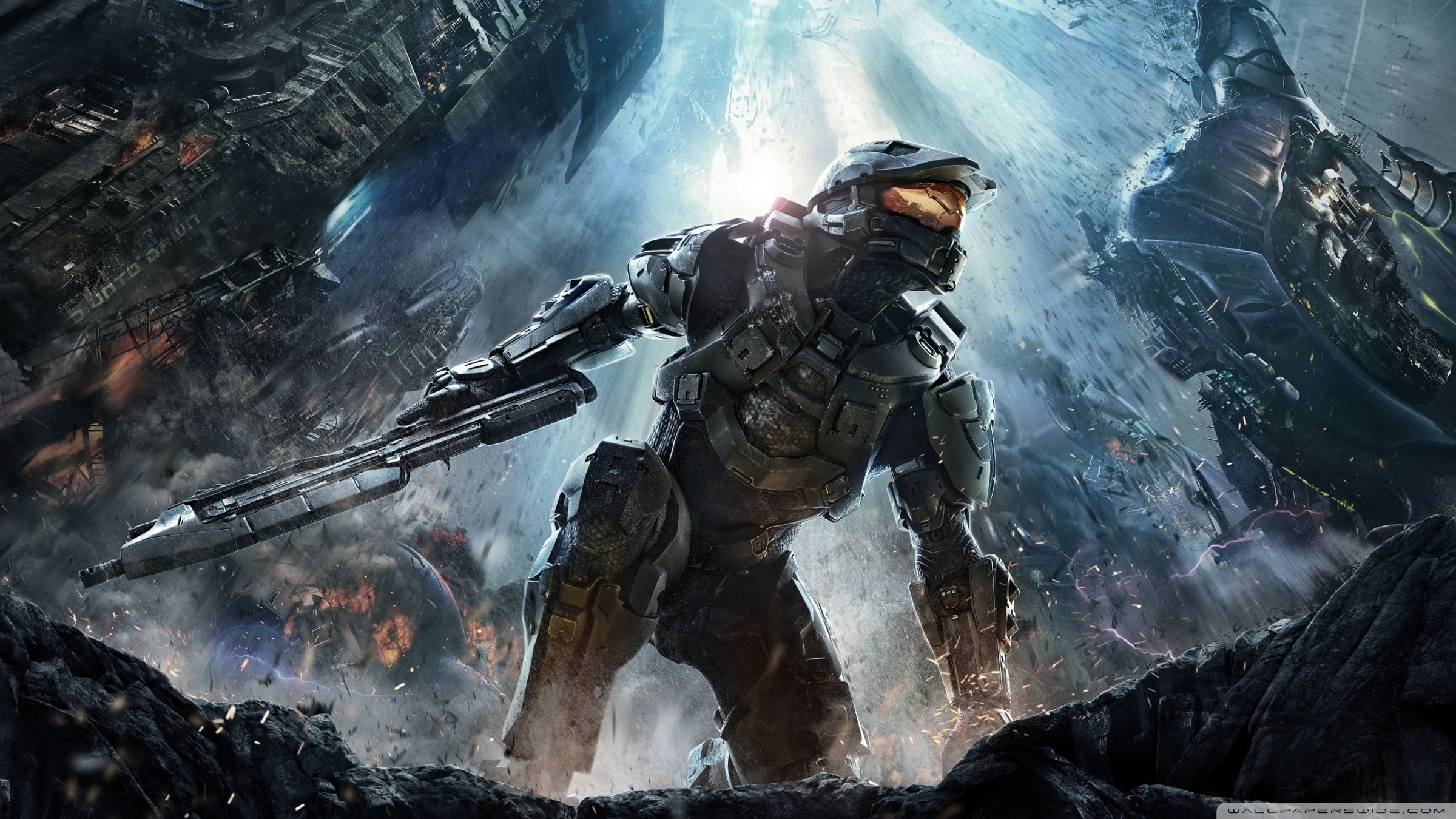 halo 4 (2012) ❤ 4k hd desktop wallpaper for 4k ultra hd tv • dual