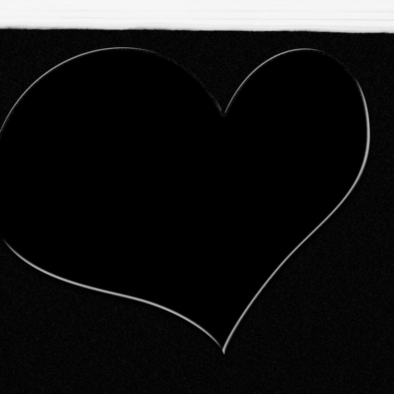 10 New White Heart Black Background FULL HD 1080p For PC Background 2020 free download hand drawn white heart on black background painted over with white 1 800x800