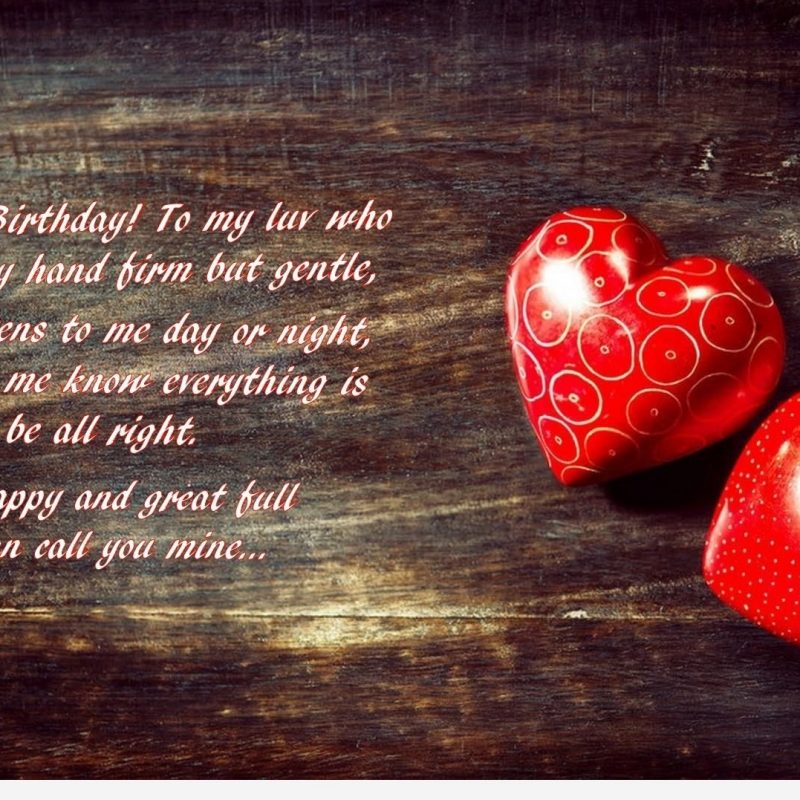 10 Best Happy Birthday Love Pics FULL HD 1920×1080 For PC Desktop 2021 free download happy birthday love wallpaper with quote 800x800
