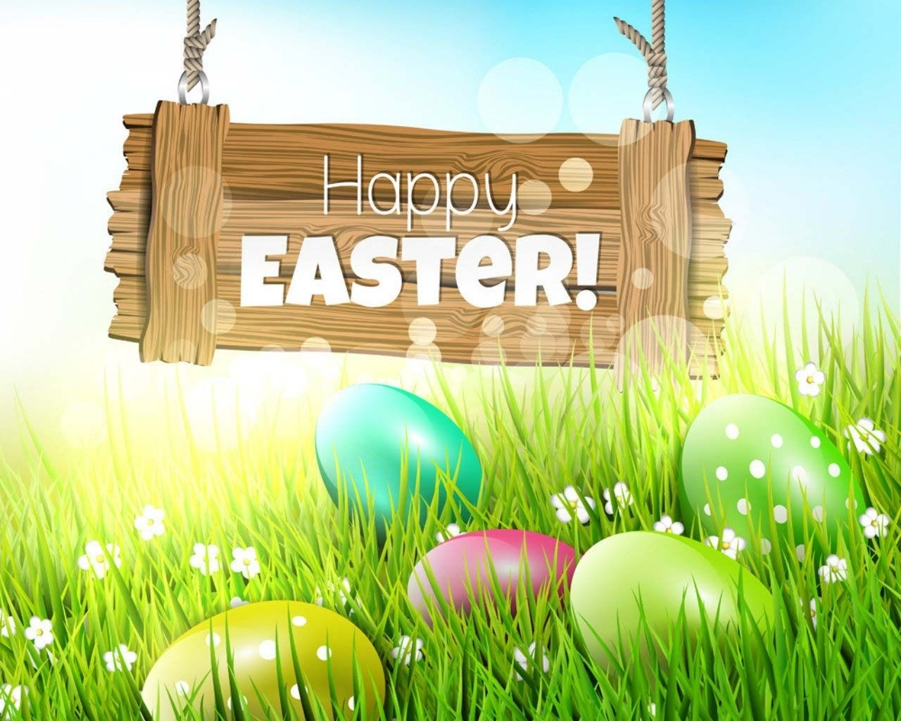 happy easter free wallpaper 1280x1024 - cool pc wallpapers | easter