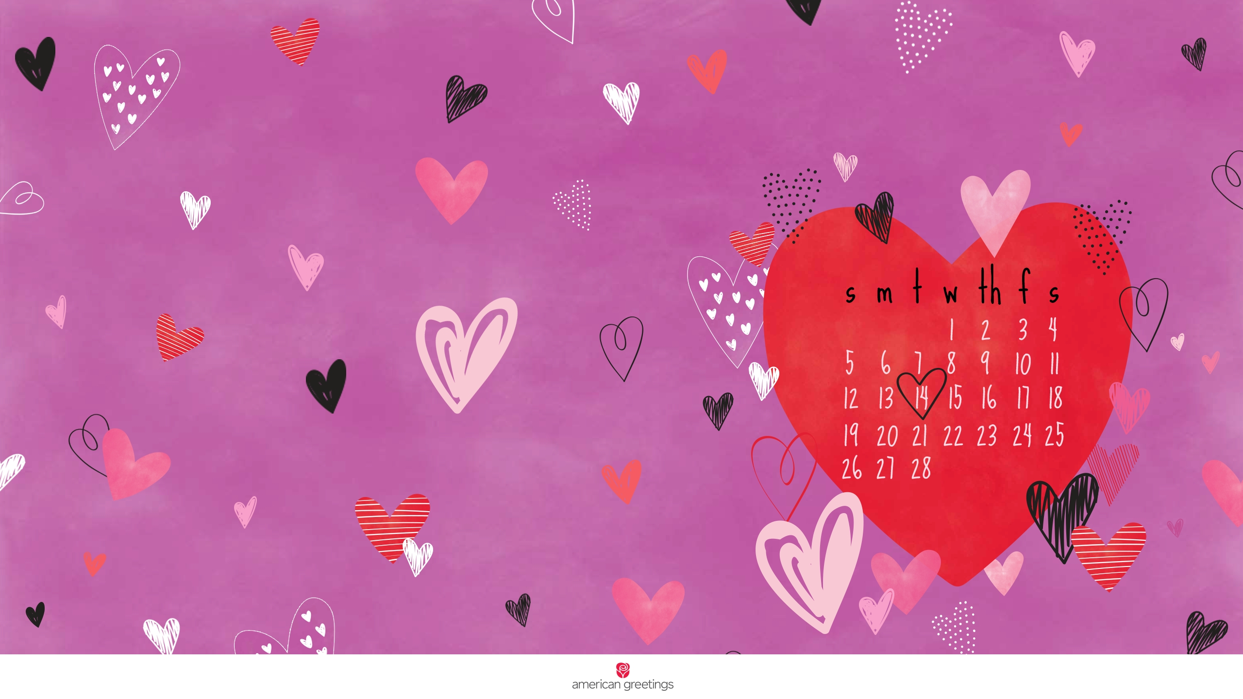 happy february! (free desktop/mobile backgrounds) - american
