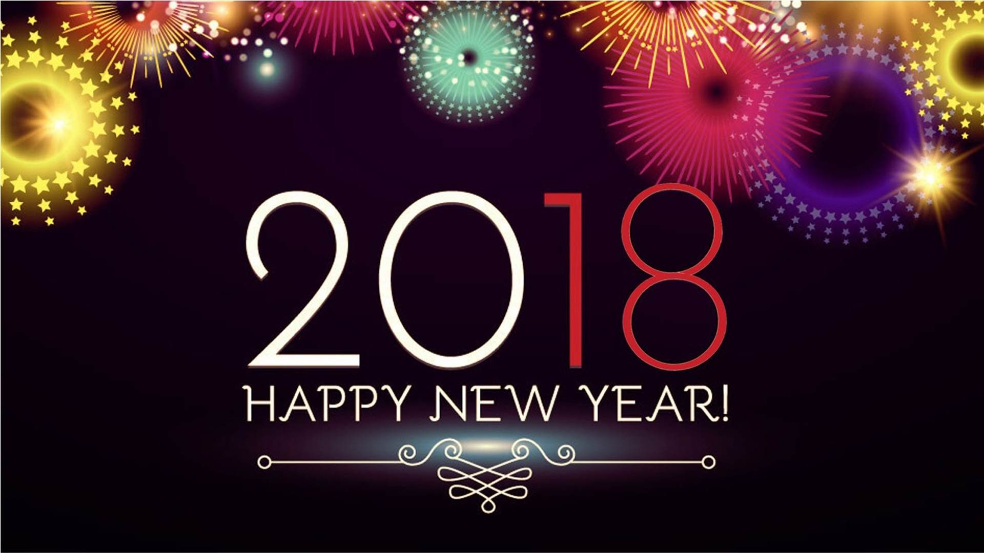 happy new year 2018 wishes greetings sms messaging with picture