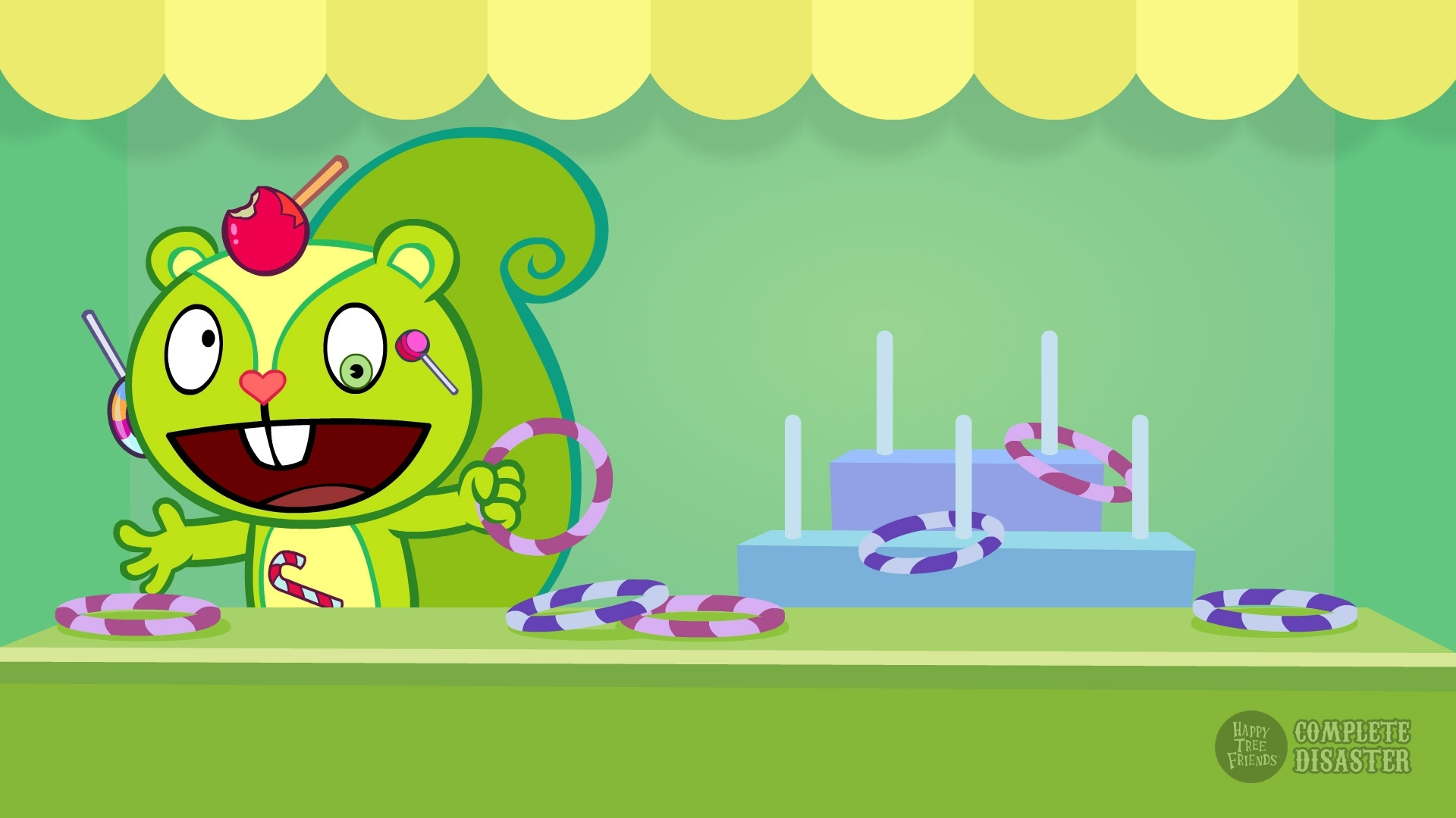 happy tree friends: more complete disaster wallpapers - happy tree
