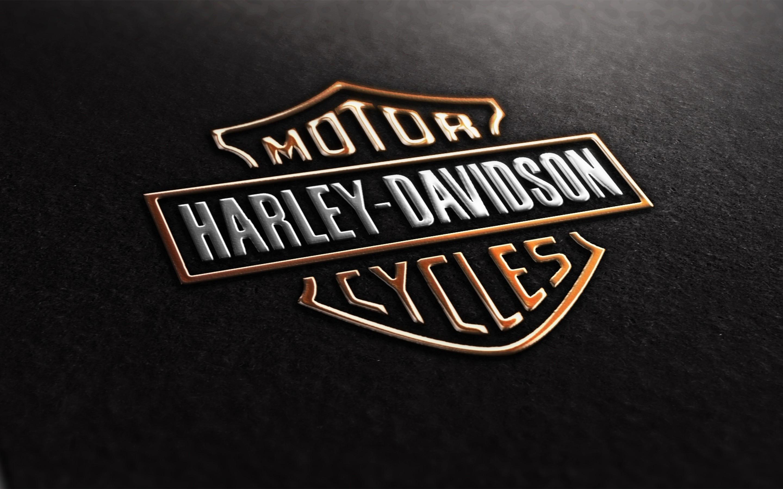 harley davidson logo text wallpaper wallpaper | wallpaperlepi