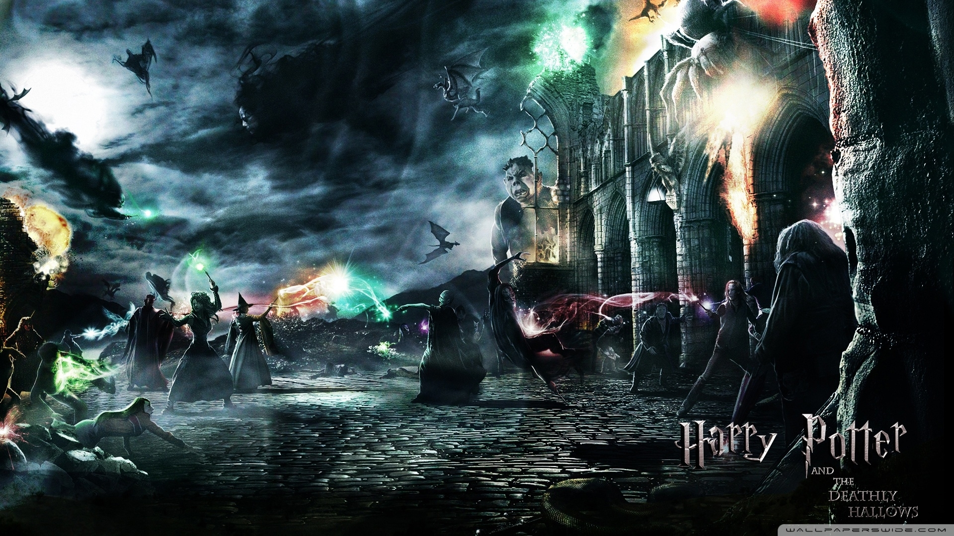 harry potter and the deathly hallows ❤ 4k hd desktop wallpaper for