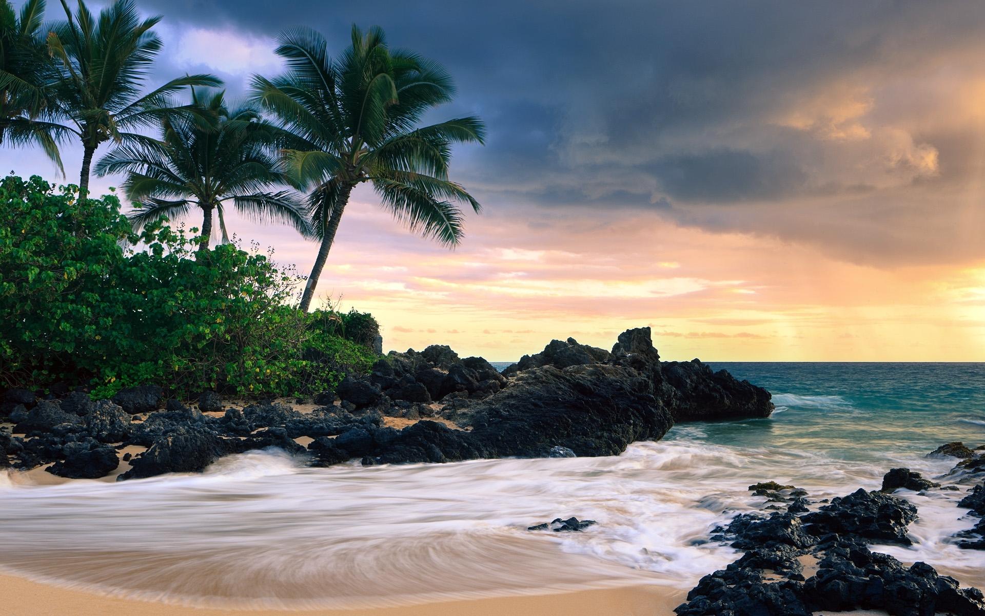 hawaii beach wallpaper hd | hd desktop background