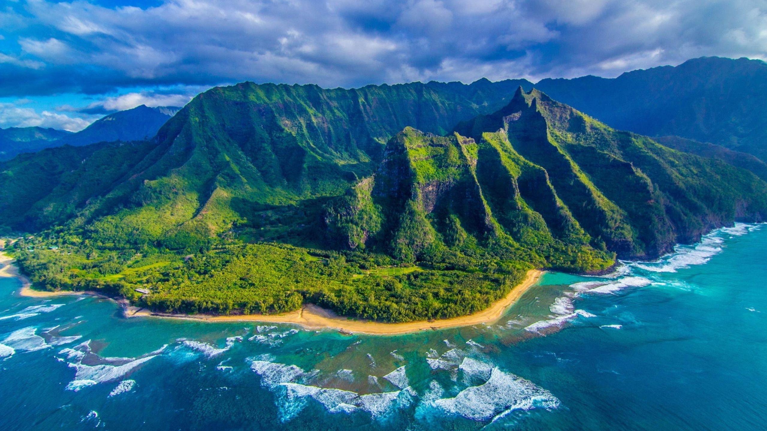 hawaii wallpaper picture for desktop wallpaper 2560 x 1440 px 1.08