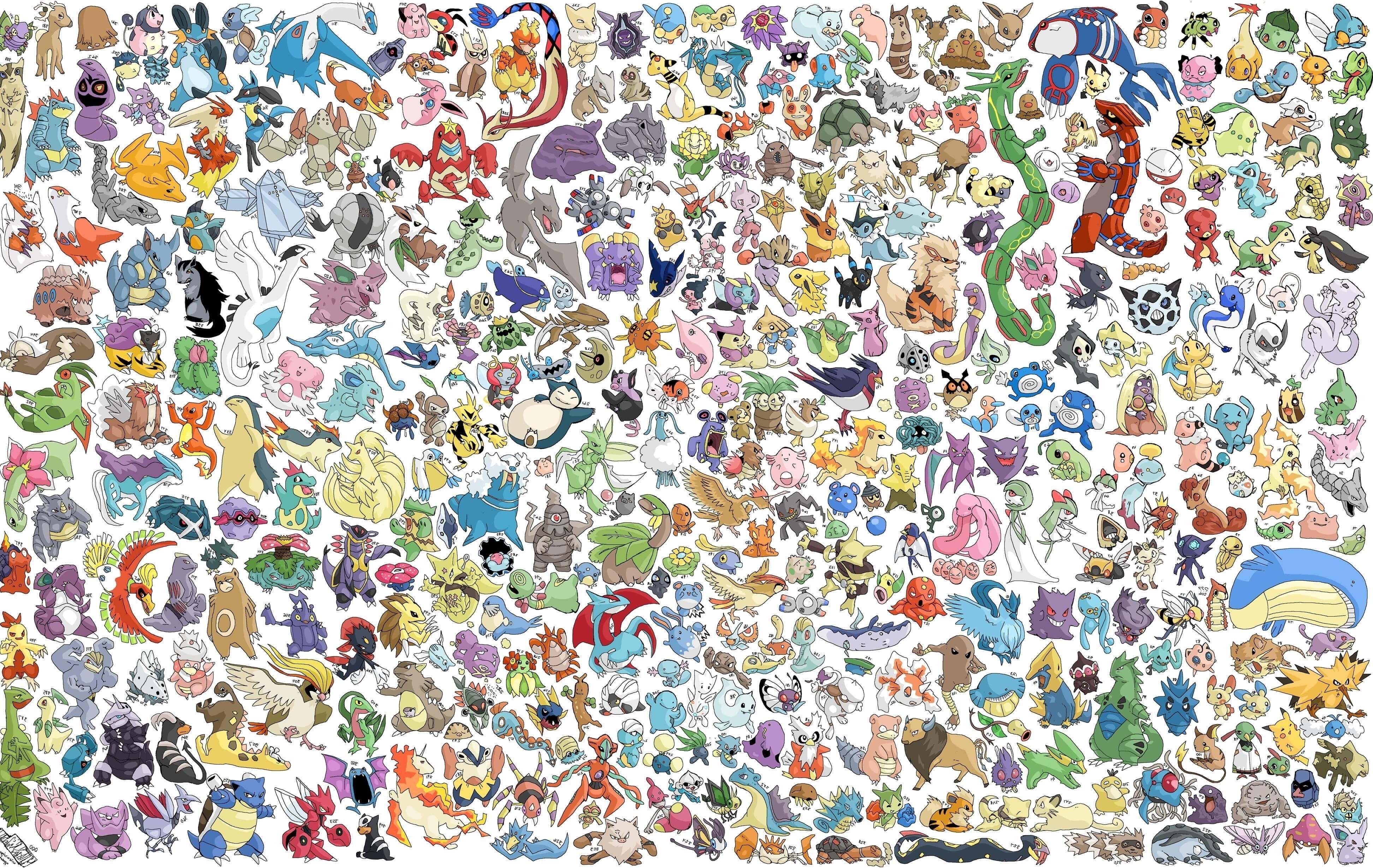 hd all pokemon wallpaper | ololoshenka | pinterest | pokémon