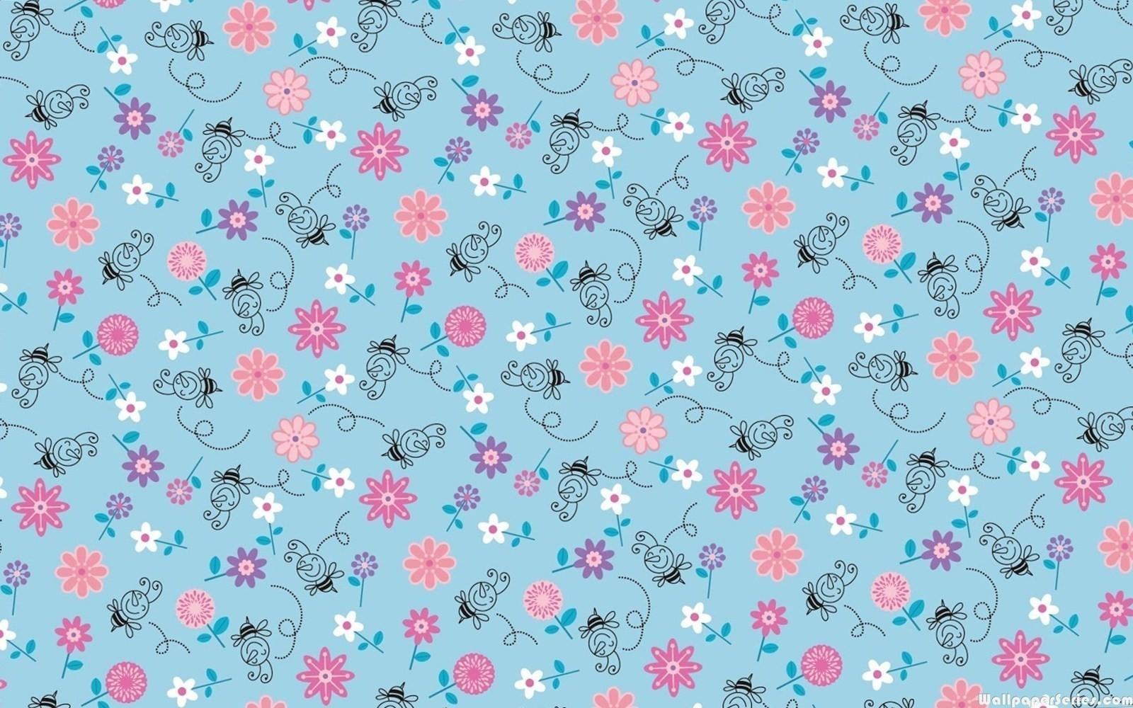 Title Hd Cute Pattern Wallpaper