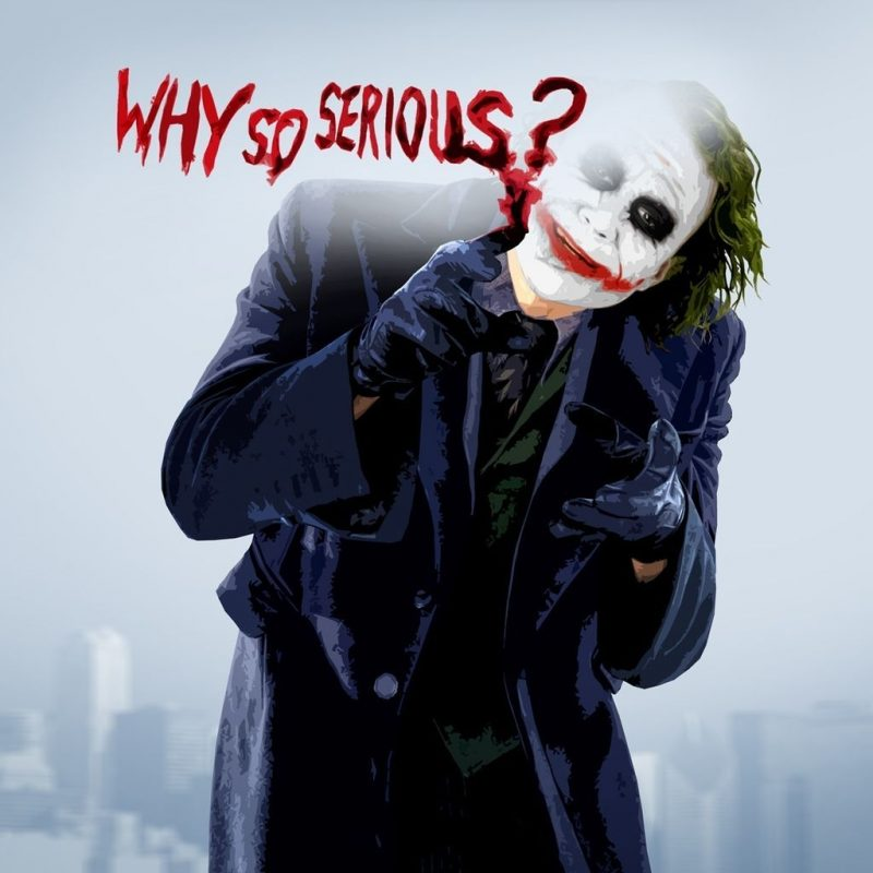 10 Most Popular Why So Serious Joker Picture FULL HD 1920×1080 For PC Desktop 2018 free download hd joker why so serious 4k pictures 800x800