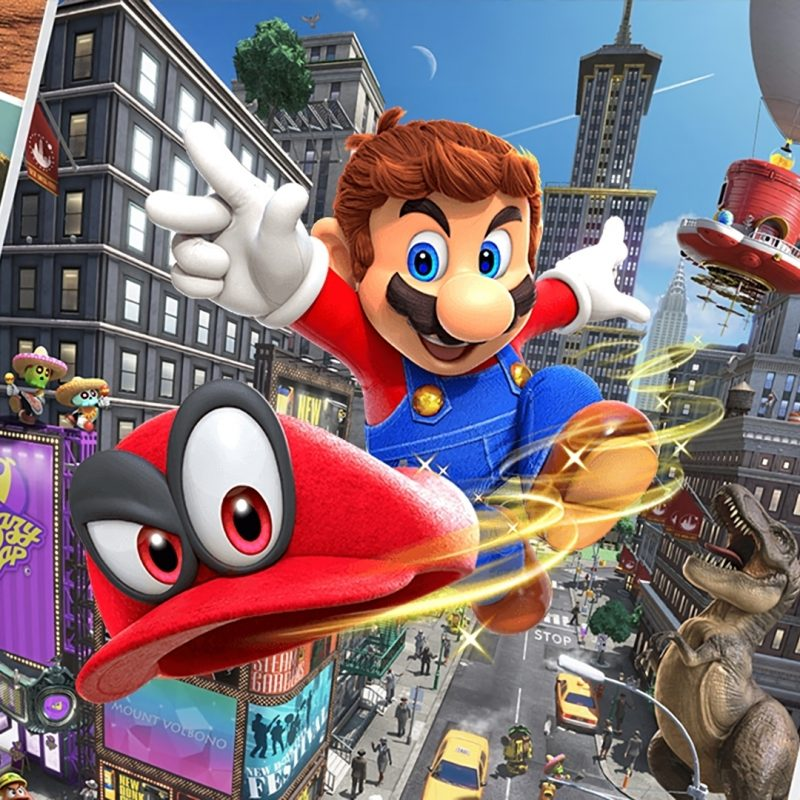 10 Most Popular Super Mario Odyssey Wallpaper Hd FULL HD 1080p For PC Background 2020 free download hd mario and cappy super mario odyssey 1132 800x800