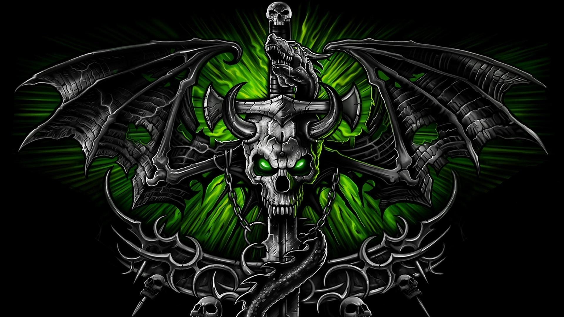 10 Latest Free Skull Wallpaper Download Full Hd 19201080 For Pc
