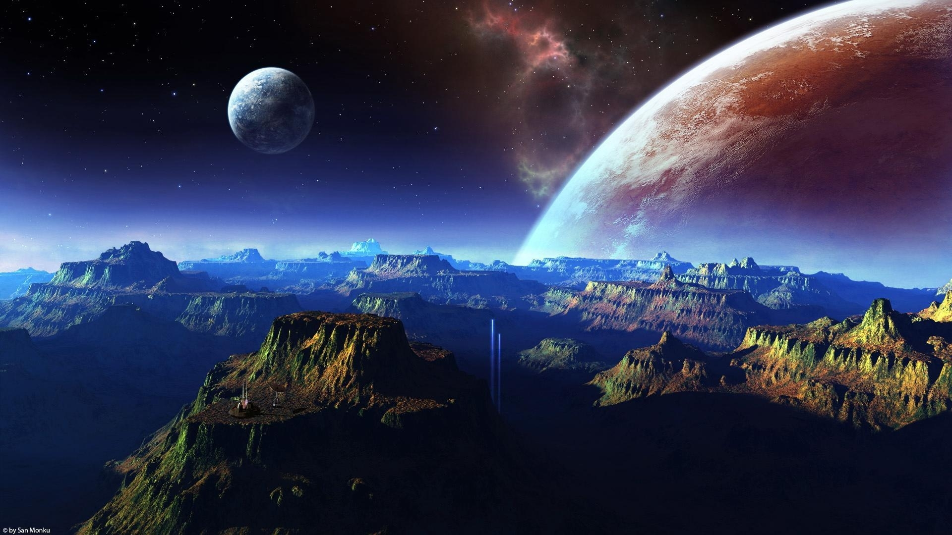 hd space wallpapers 1080p - wallpaper cave