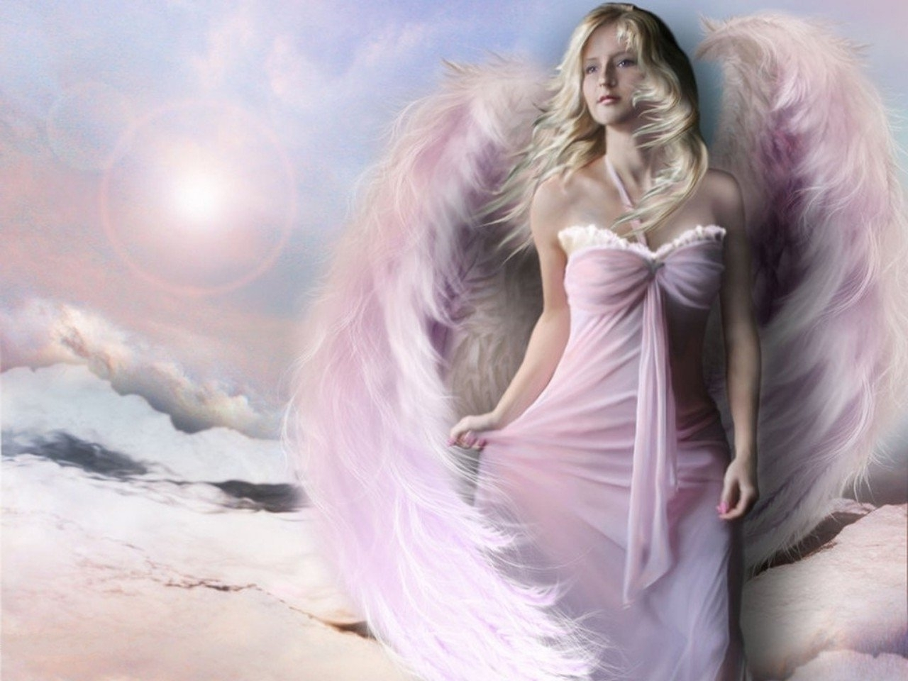 hd wallpapers: angel wallpaper free download