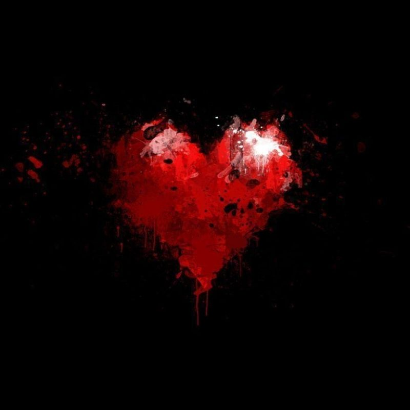 10 Best Heart With Black Background FULL HD 1920×1080 For PC Background 2020 free download heart black backgrounds wallpaper cave 800x800