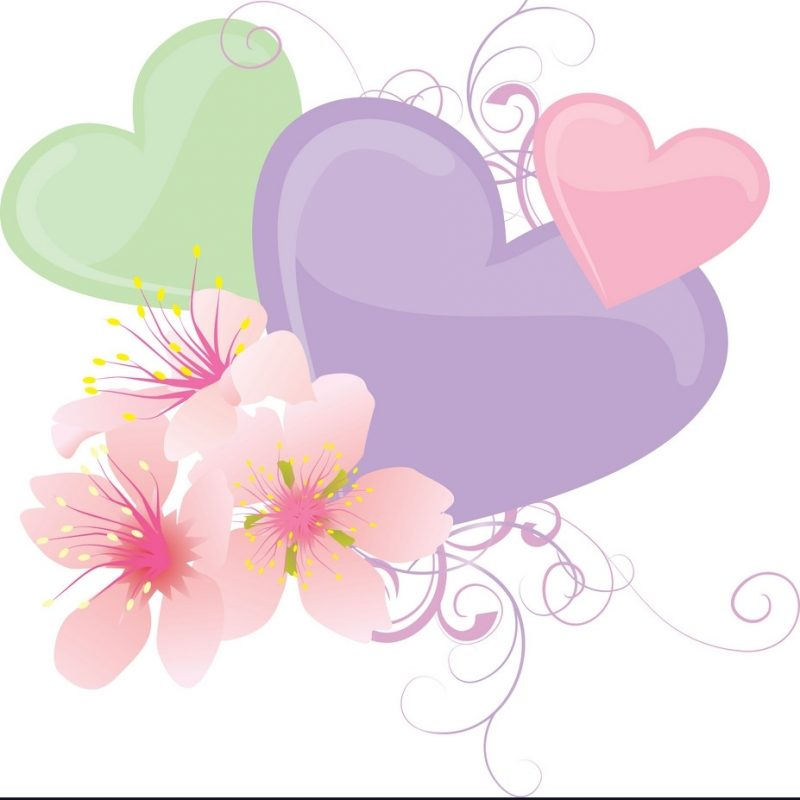 10 Most Popular Hearts And Flowers Pictures FULL HD 1920×1080 For PC Desktop 2018 free download hearts and flowers pastel royalty free vector image 800x800