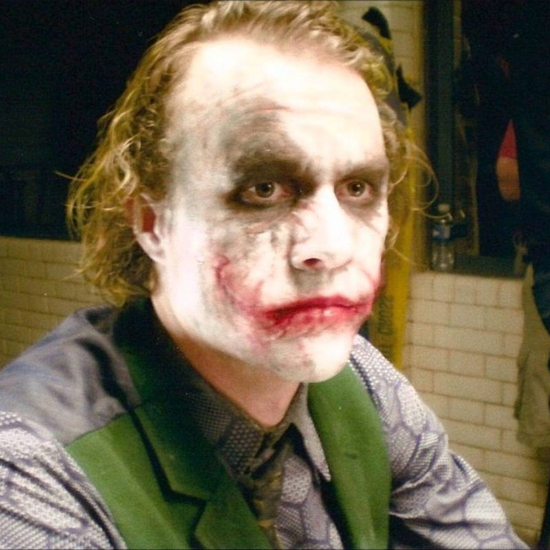 10 New Heath Ledger Joker Pics FULL HD 1080p For PC Background 2018 free download heath ledger joker unseen and exclusive photos part 1 youtube 800x800