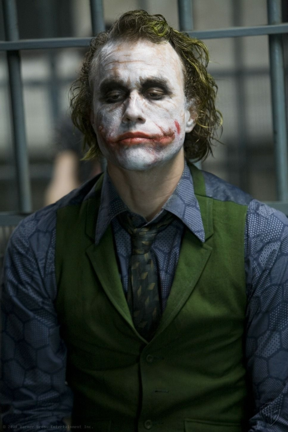 heath ledger's joker. i mean holy fuck. he changed the game for