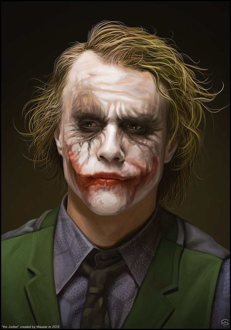 heath ledger's joker - wow! what a pciture | 3️⃣7️⃣ marvel / dc