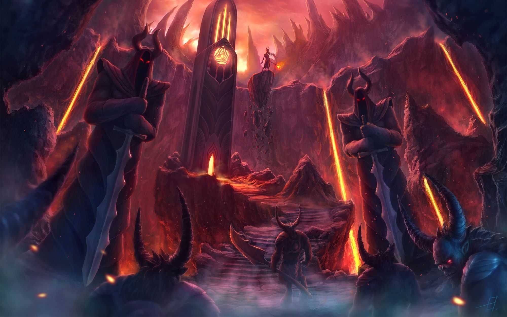 hell art wallpapers - wallpaper cave