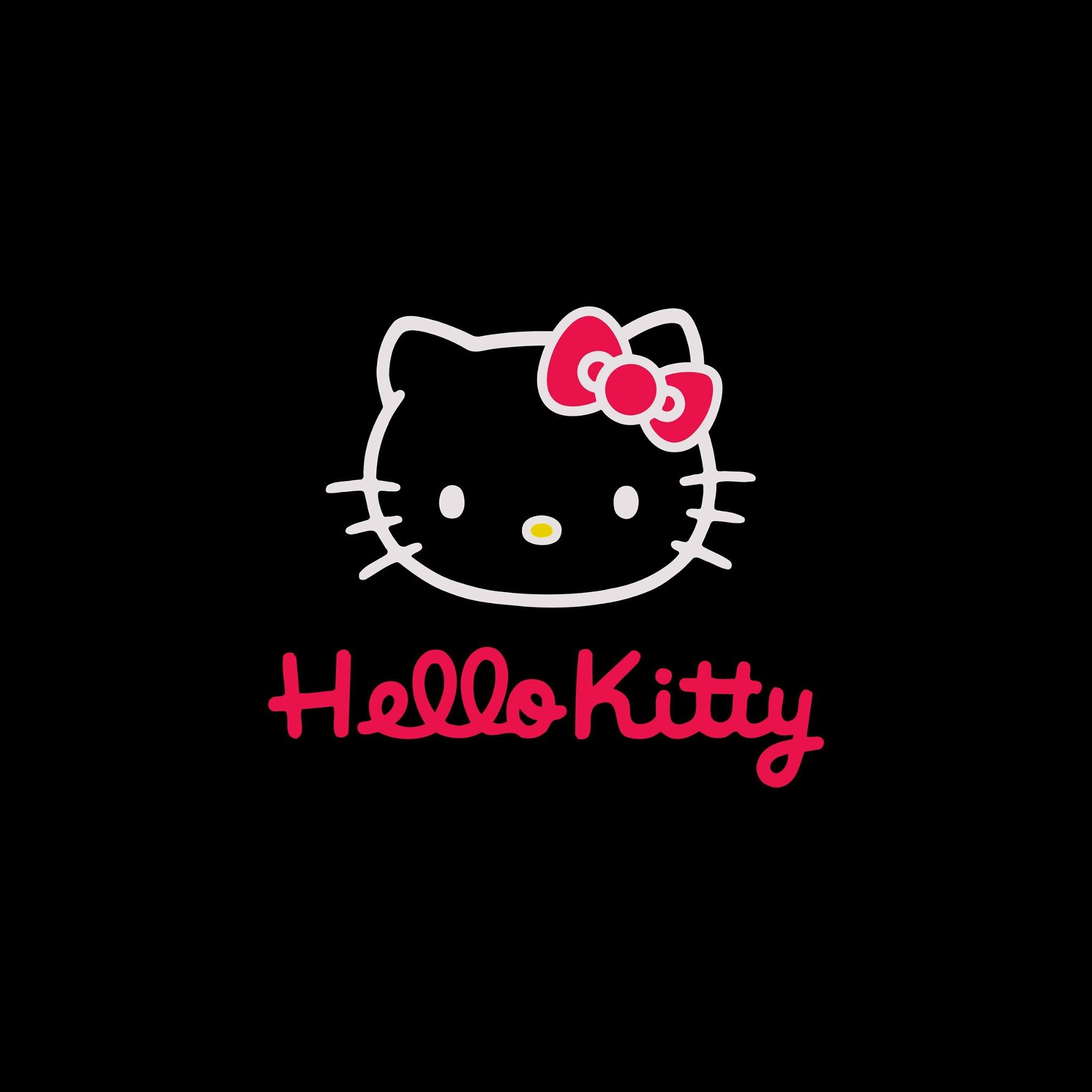 hello kitty dark - tap to see more cute hello kitty wallpapers
