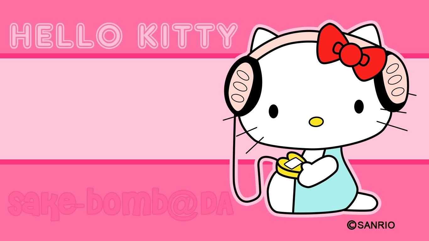 hello kitty desktop | background