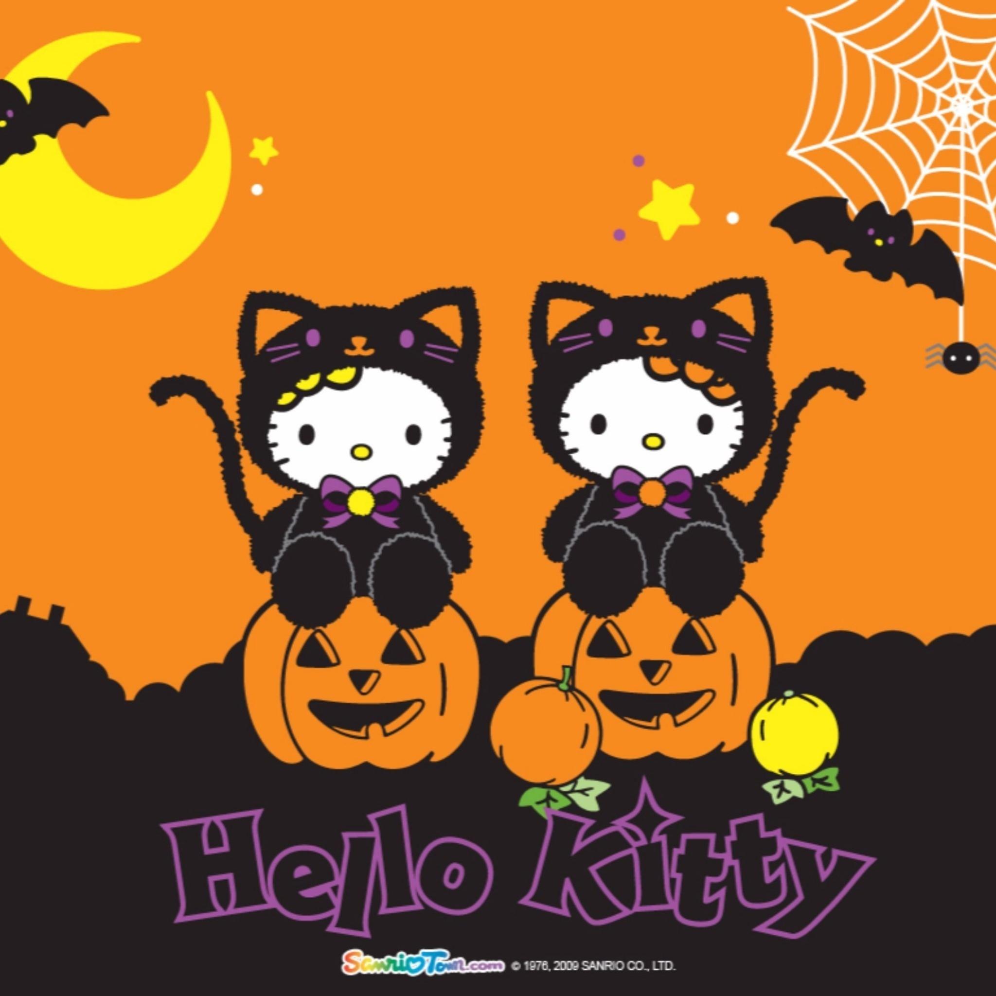 hello kitty fall wallpaper ·①