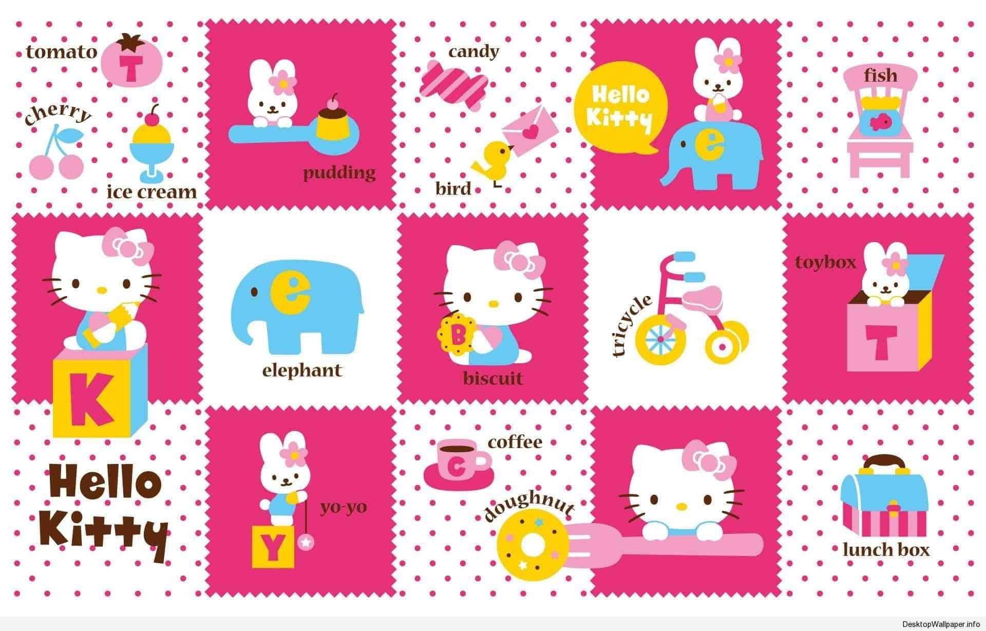 10 Most Popular Cute Hello Kitty Wallpaper Desktop Full Hd