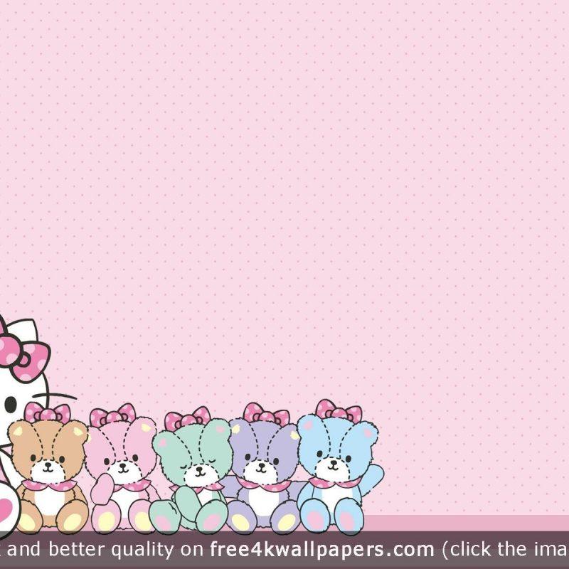 10 Best Hello Kitty Wallpaper Desktop Background Full Hd 1080p For