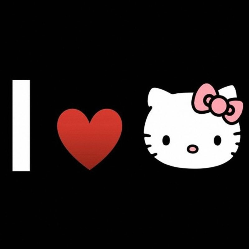 10 New Black Hello Kitty Wallpaper FULL HD 1080p For PC Desktop 2018 free download hello kitty wallpapers hd group 73 800x800