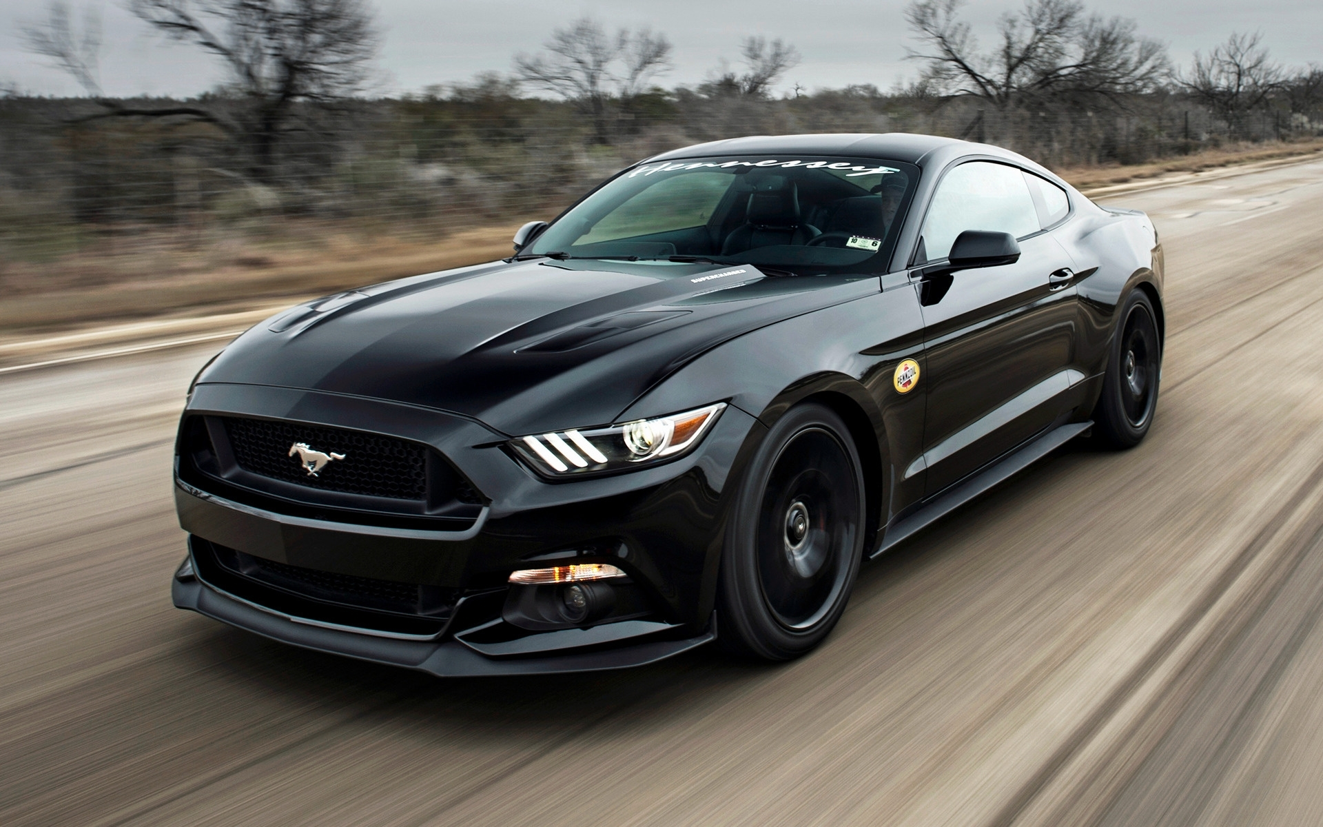 hennessey mustang gt hpe700 supercharged (2015) wallpapers and hd