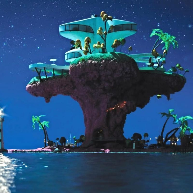 10 Most Popular Gorillaz Plastic Beach Wallpaper FULL HD 1920×1080 For PC Background 2021 free download heres my attempt at making a 1920x1080 desktop background of 800x800
