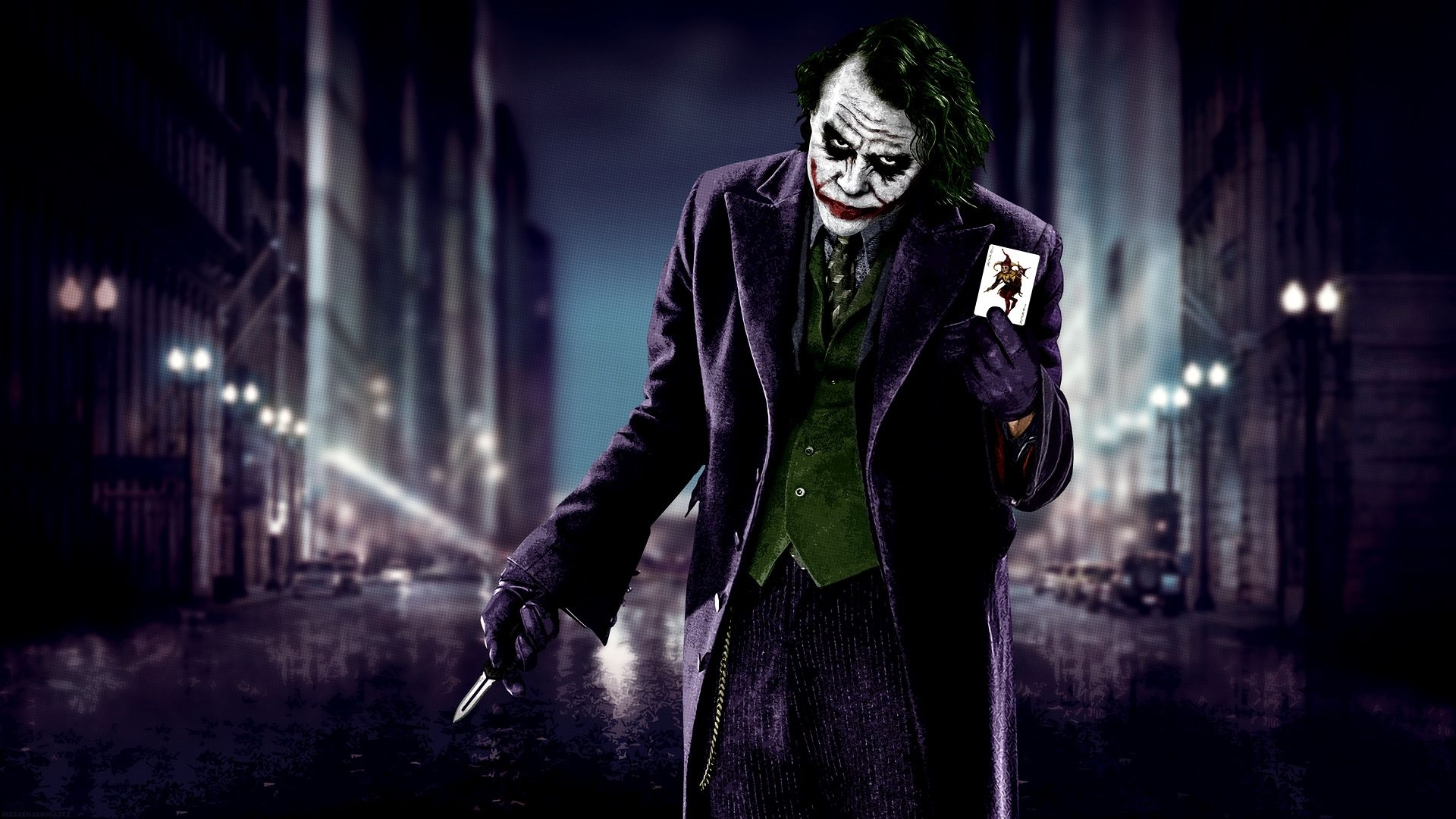 here's my card | the joker (heath ledger) | pinterest