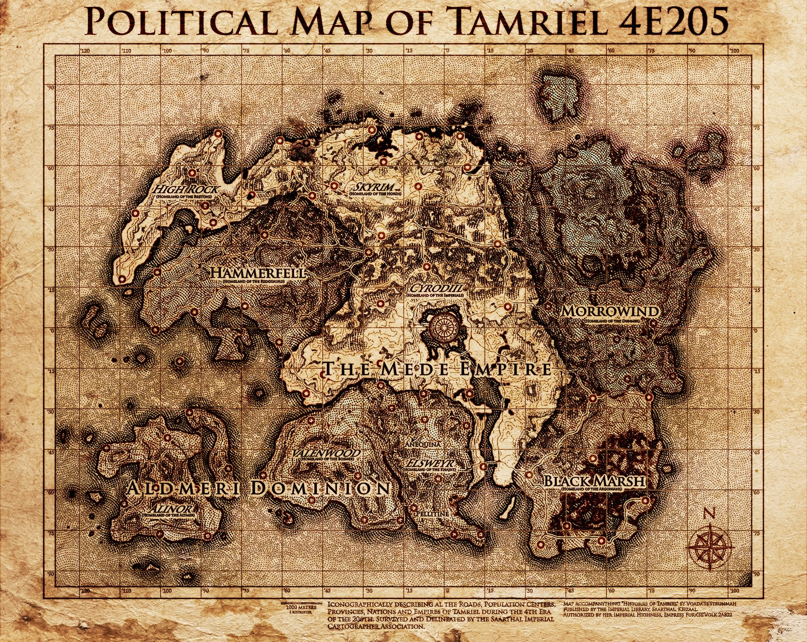 high resolution tamriel map (elder scrolls series)belhene on