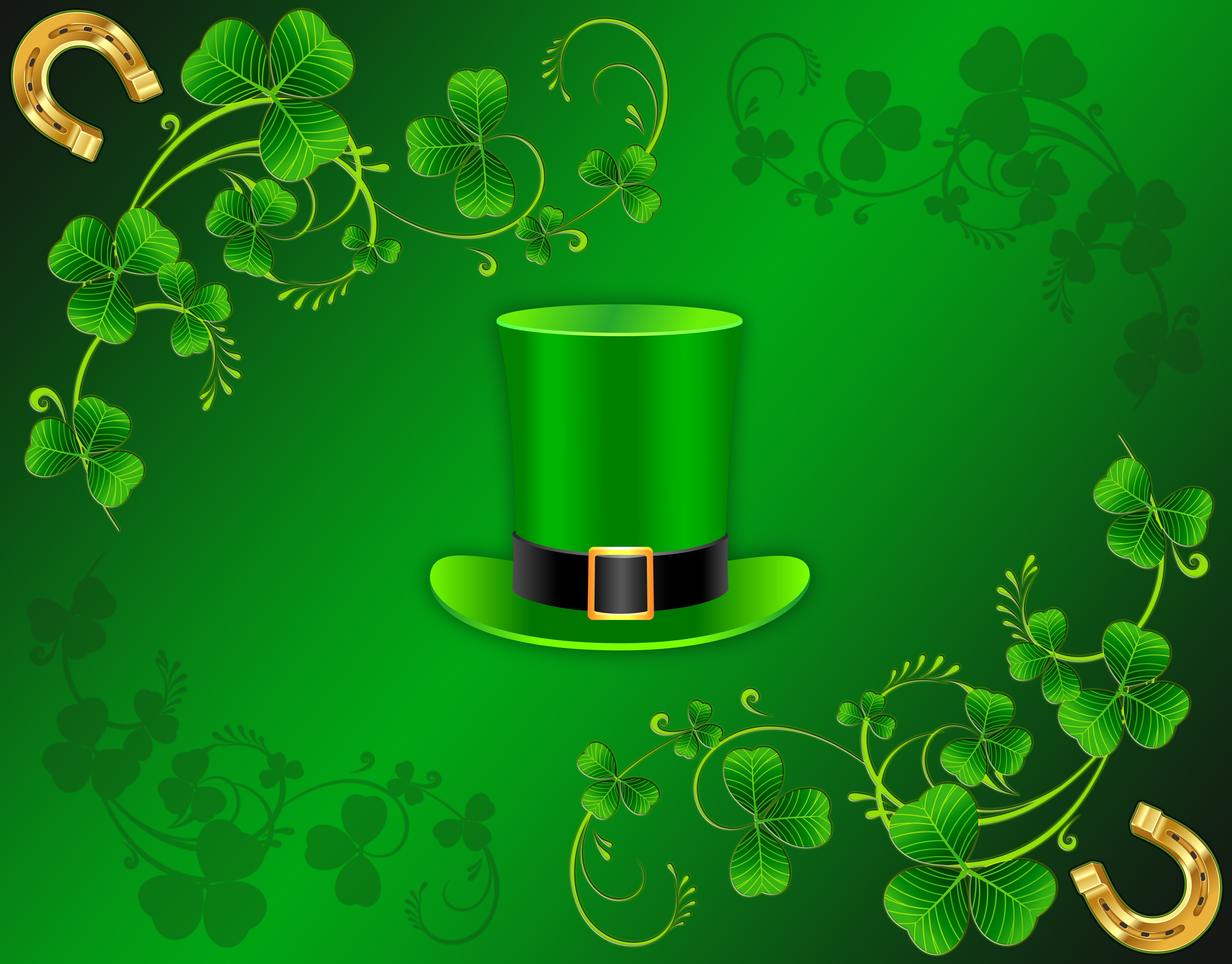 holiday st. patrick's day wallpapers (desktop, phone, tablet