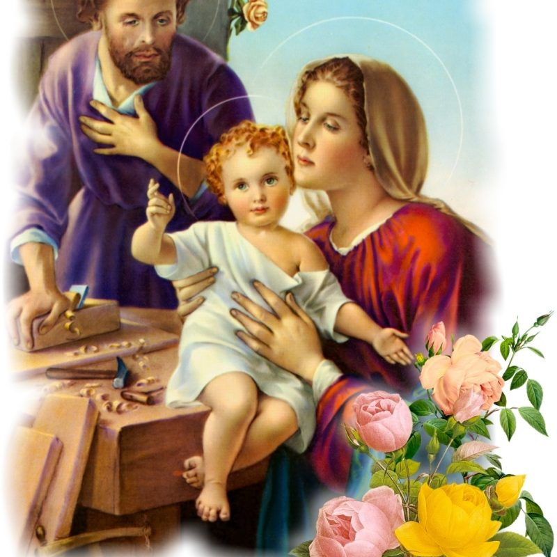 10 Top Images Of The Holy Family FULL HD 1080p For PC Background 2021 free download holy family reparation 800x800