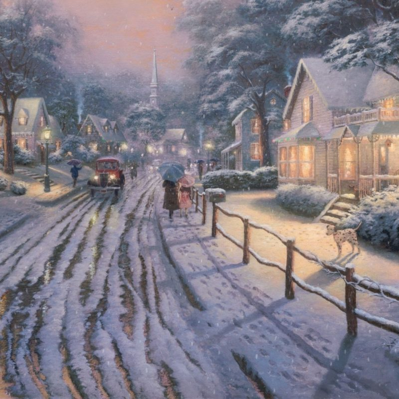 10 Most Popular Thomas Kinkade Christmas Wallpaper Desktop FULL HD 1920×1080 For PC Desktop 2020 free download hometown christmas memoriesthomas kinkade e29da4 4k hd desktop 800x800