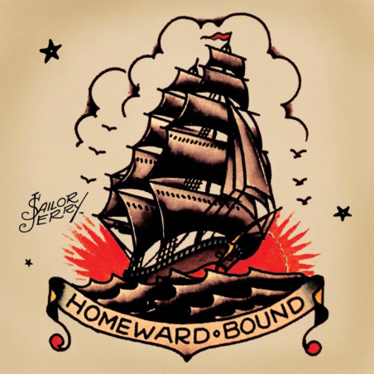 homeward bound tattoo | tattoo ideas | tattoos, sailor jerry tattoos