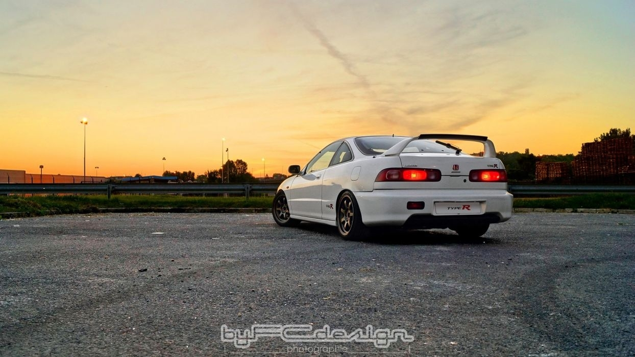 honda integra type-r coupe cars tuning japan wallpaper | 2048x1152