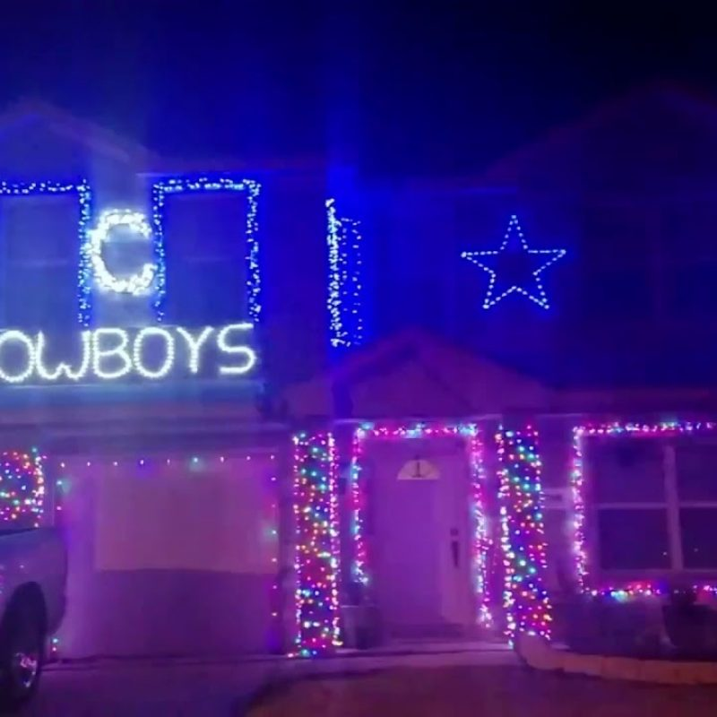 10 Best Dallas Cowboys Christmas Pictures FULL HD 1080p For PC Background 2020 free download house with dallas cowboys decorations for christmas youtube 1 800x800