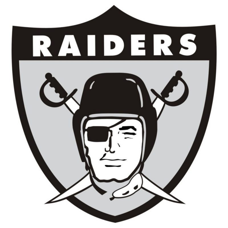 10 Top Oakland Raiders Logos Images FULL HD 1080p For PC Background 2018 free download how the oakland raiders got their logo and colors just blog baby 800x800